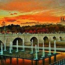 Atardecer Puente Segovia - @margaritatecza