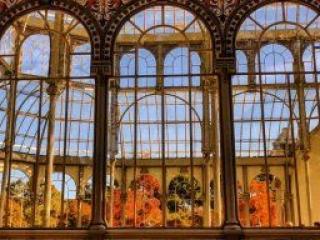 Palacio de Cristal en otoño - @mutuitter